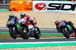 Valentino Rossi, Yamaha Factory Racing, Andrea Dovizioso, Ducati Team, Maverick Viñales, Yamaha Fact