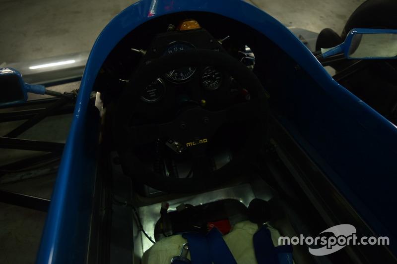 Abitacolo Williams FW07 Penthouse Rizla Racing di Rupert Keegan