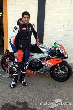 Maximilian Scheib, Nuova M2 Racing Aprilia