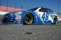 Jimmie Johnson, Hendrick Motorsports Chevrolet decoración 2017