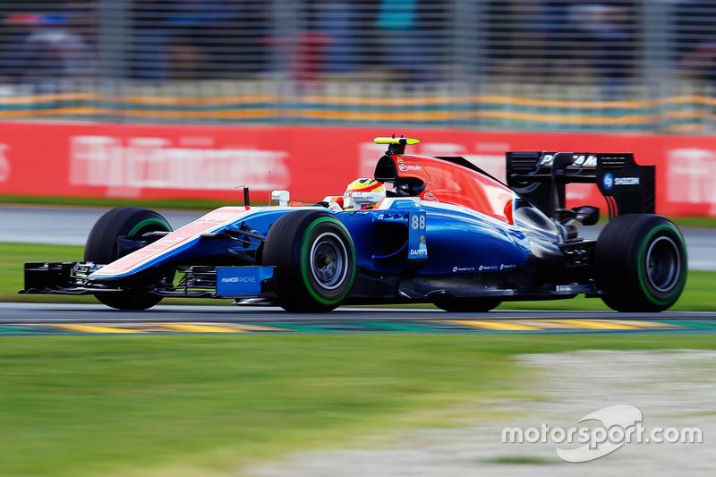 Rio Haryanto, Albert Park, GP Australia 2016