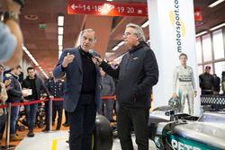 Giorgio Piola, esperto di analisi tecnica di F.1, Franco Nugnes, Direttore Motorsport.com