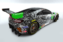 The #93 team car, representing 1993, the year HPD was founded, will reverse the color pattern, with