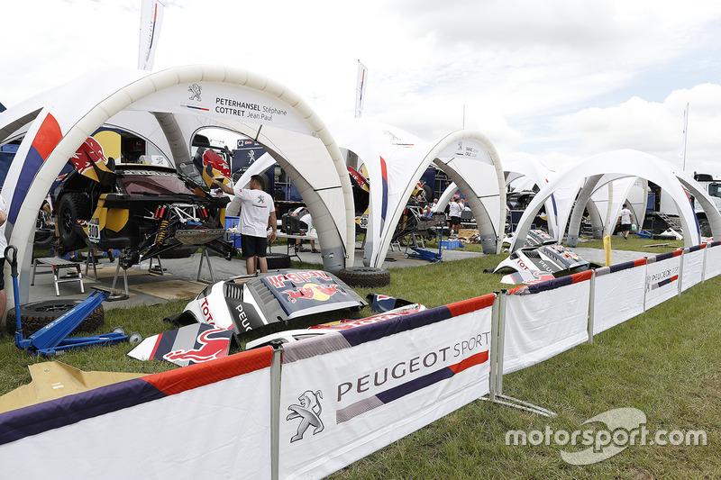 Zona de Peugeot Sport team
