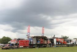 Team Mammoet Rallysport, atmosfera