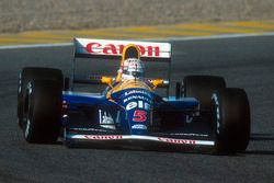 Найджел Мэнселл, Williams FW14B Renault