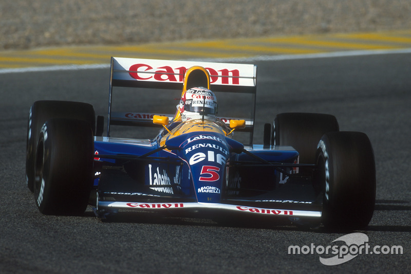 1992: Nigel Mansell, Williams FW14B-Renault