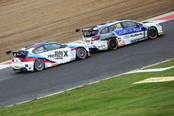 Ashley Sutton, Team BMR Subaru Levorg, Colin Turkington, Team BMW BMW 125i M Sport