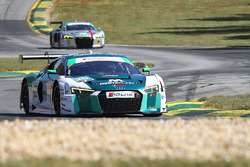 #29 Montaplast by Land-Motorsport Audi R8 LMS GT3: Connor de Phillippi, Christopher Mies, Sheldon va