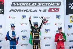 Podium: 1. Pietro Fittipaldi, Lotus; 2. Egor Orudzhev, AVF; 3. Alfonso Celis Jr., Fortec Motorsports