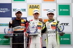 Rookie Podium: first place Mick Schumacher, Prema Powerteam, Dallara F317 - Mercedes-Benz, second pl
