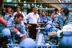 Flavio Briatore, Benetton, Teamchef