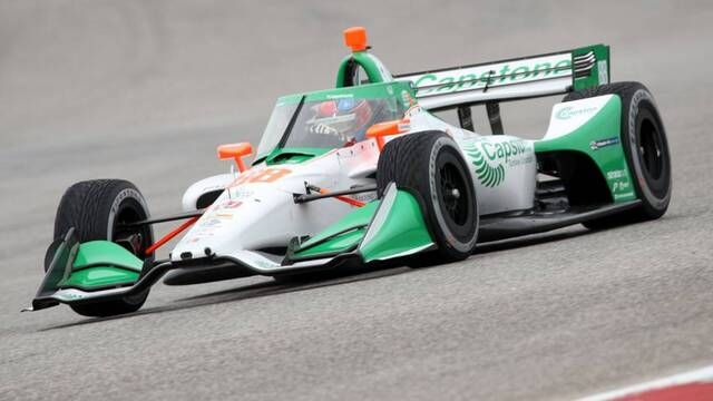 IndyCar: Colton Herta's flying lap at COTA