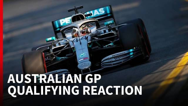 Qualifying Melbourne 2019: Wow, Mercedes!