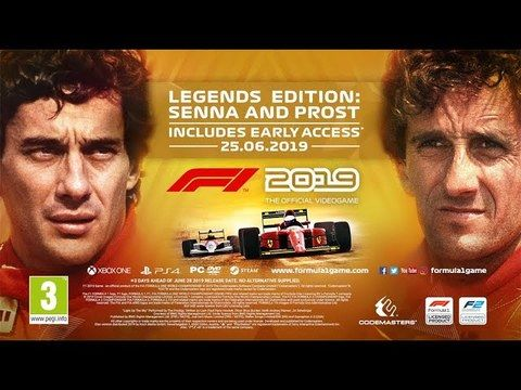 Trailer 'F1 2019' 'Legends Edition