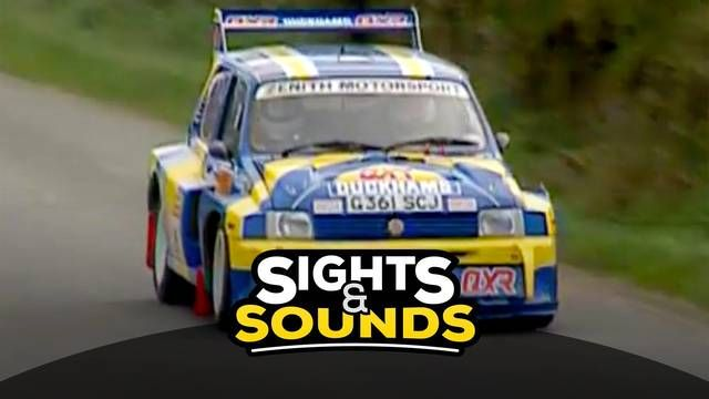 Sights & Sounds: 1992 MG Metro 6R4