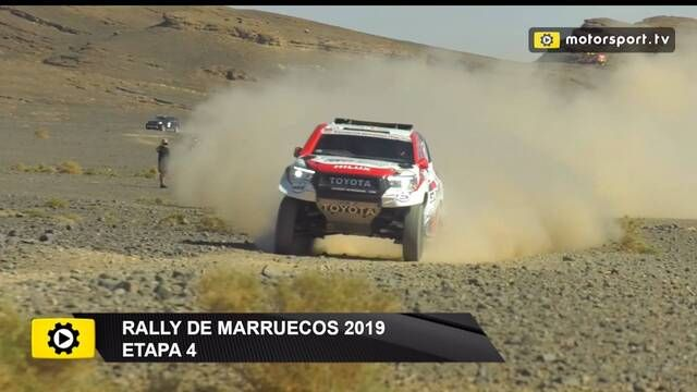 La etapa 4 del Rally de Marruecos para Alonso