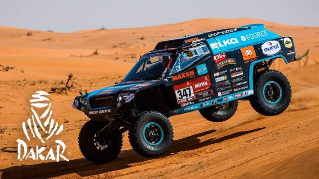 Dakar 2021: Etappe 6 Highlights - Auto's