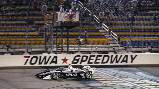 Lo destacado Carrera 2 Iowa IndyCar