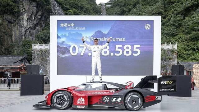 Onboard-Video: Volkswagen ID.R-Rekord am Tianmen