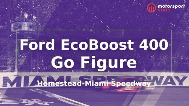 Go Figure: NASCAR - Ford EcoBoost 400, Homestead-Miami Speedway