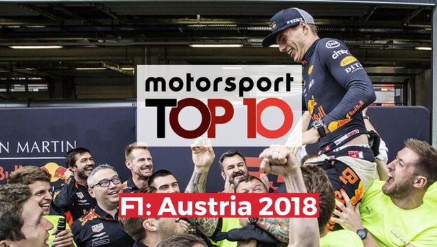 Top10 F1 GP de Austria