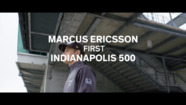 Marcus Ericsson on his first Indy 500
