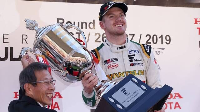 Nick Cassidy - Super Formula champion