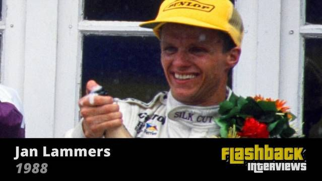1988 WSC Fuji 1000 Kms, interview with Jan Lammers