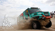 Dakar Rally: Day 3 highlights - Trucks