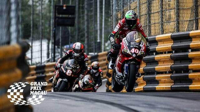 Macau GP: Motorcycle Grand Prix - Race