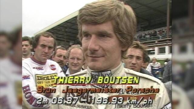 Spa 1986: Thierry Boutsen pre-race interview