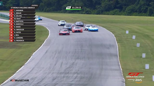 GT World Challenge America: VIR - Race 2 start