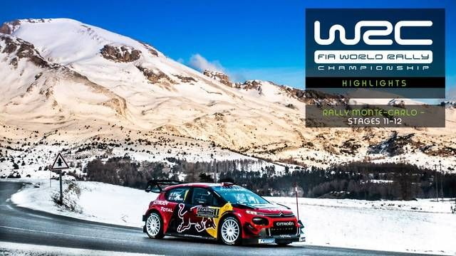 Highlights Reli Monte-Carlo Stage 11-12