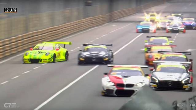 Huge crash for Laurens Vanthoor - FIA GT World Cup