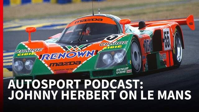 Johnny Herbert on Le Mans | Autosport Podcast