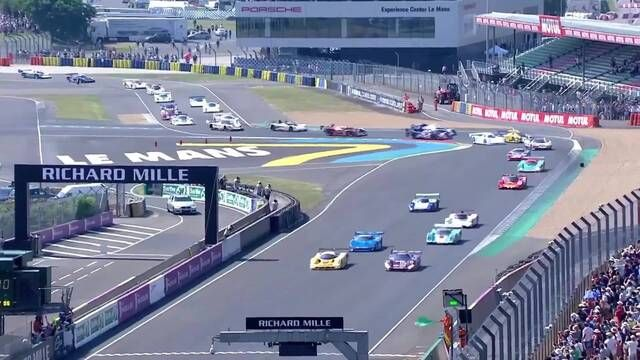 Le Mans Classic Retrospective: Group C start
