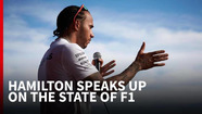 Why Hamilton's right to point the finger on F1's problems