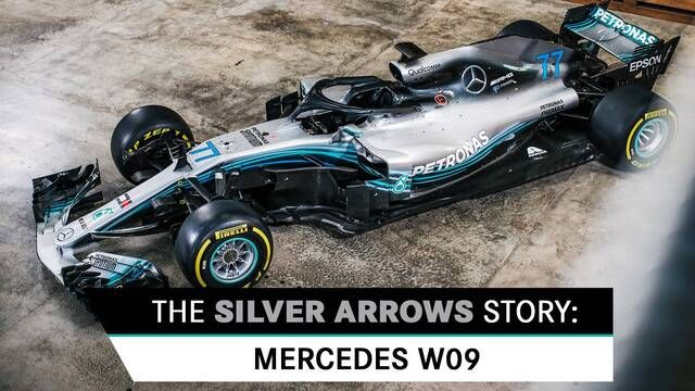 The Silver Arrows Story: Mercedes W09