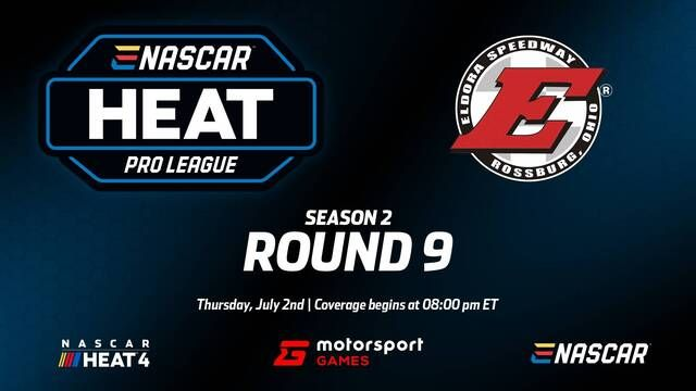 Live: eNASCAR Heat - Pro League - Round 9