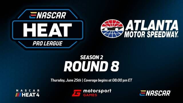 Live: eNASCAR Heat Pro League - Atlanta