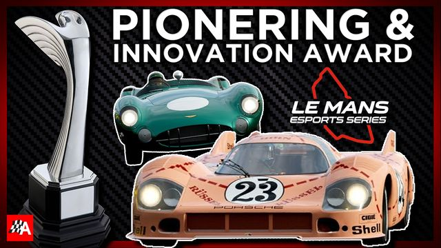 Pioneering and Innovation Award - Autosport Awards 2020