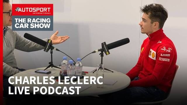 Charles Leclerc - Live Podcast at the Autosport International Show 2020