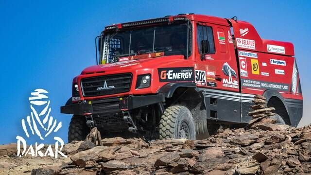 Dakar 2021: Etappe 4 Highlights - Trucks