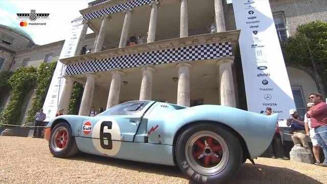 Goodwood FOS: GT40 and 1969 Le Mans tribute