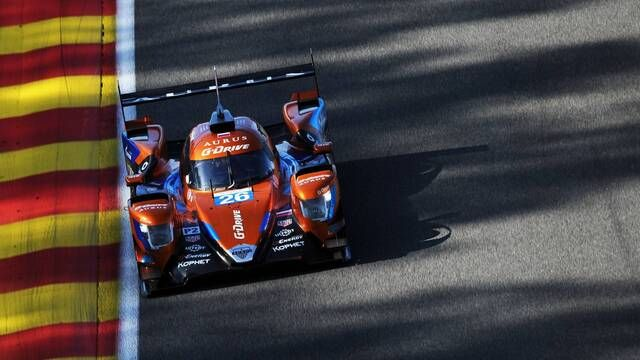 ELMS: 4 Hours of Spa race start
