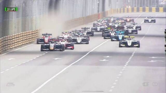 Macau GP - F3: Qualifying race start