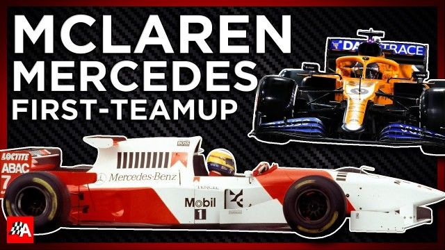How The First McLaren Mercedes F1 Car Led To Greatness - The MP4/10
