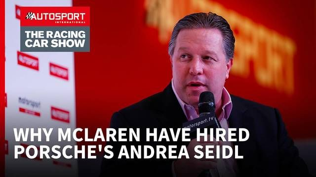 Why McLaren have hired Porsche's Andrea Seidl