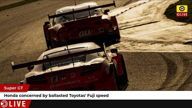 SUPER GT: Honda concerned about Toyota speed